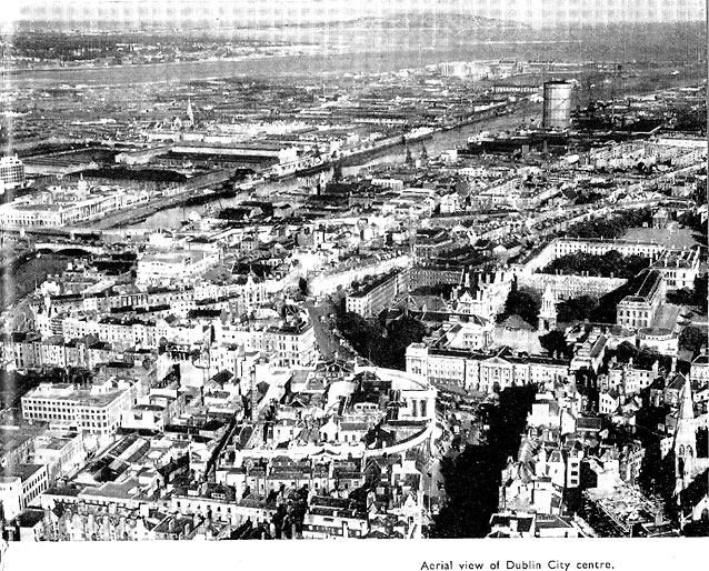 aerial dublin 1950s from 1957 booklet