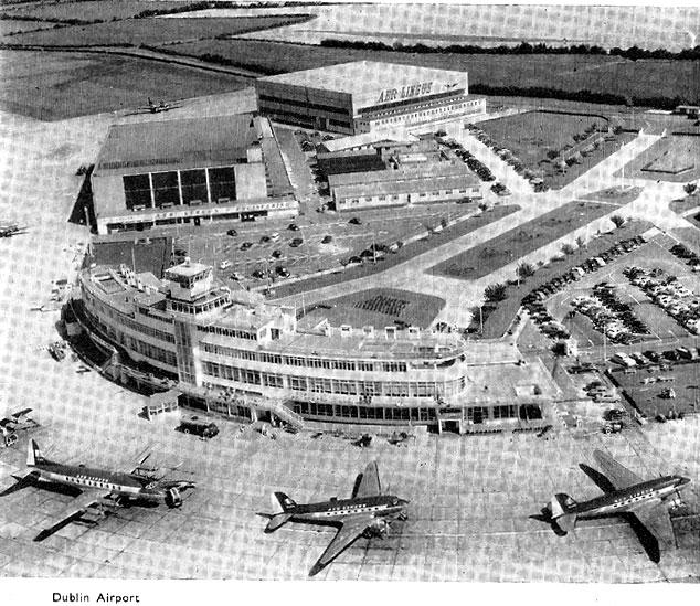 airport dublin 1950s