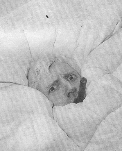 saville in bed gresham hotel dublin 1968