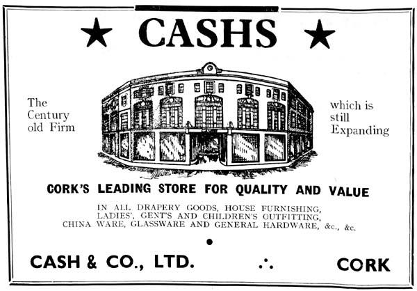 cashs cork 1950