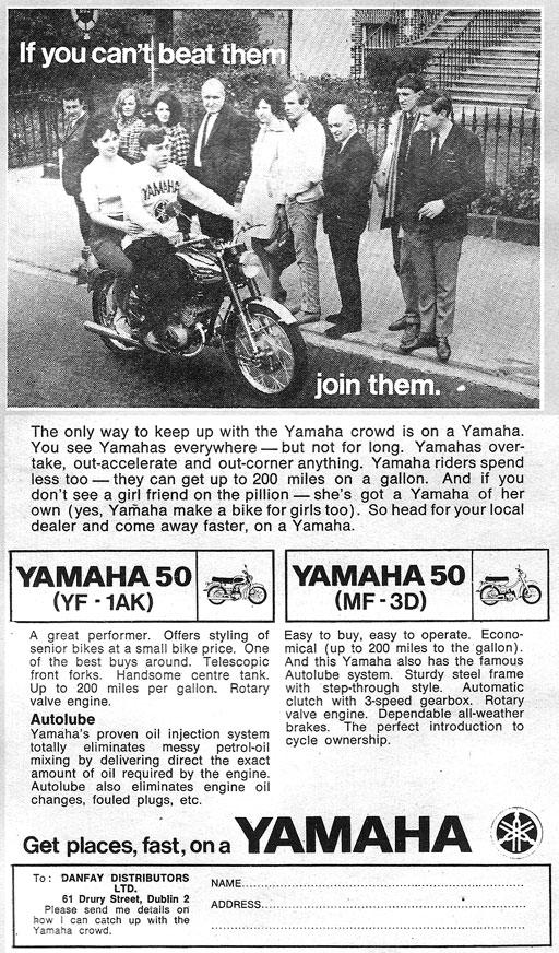 honda-50 1969 ireland