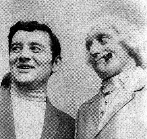 jimmy saville with larry gogan