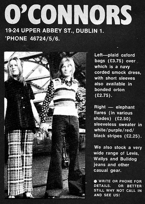 oconnors jeans shop dublin upper abbey st 1971