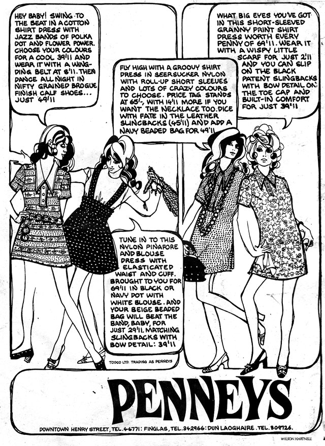 penneys1969 dublin advert