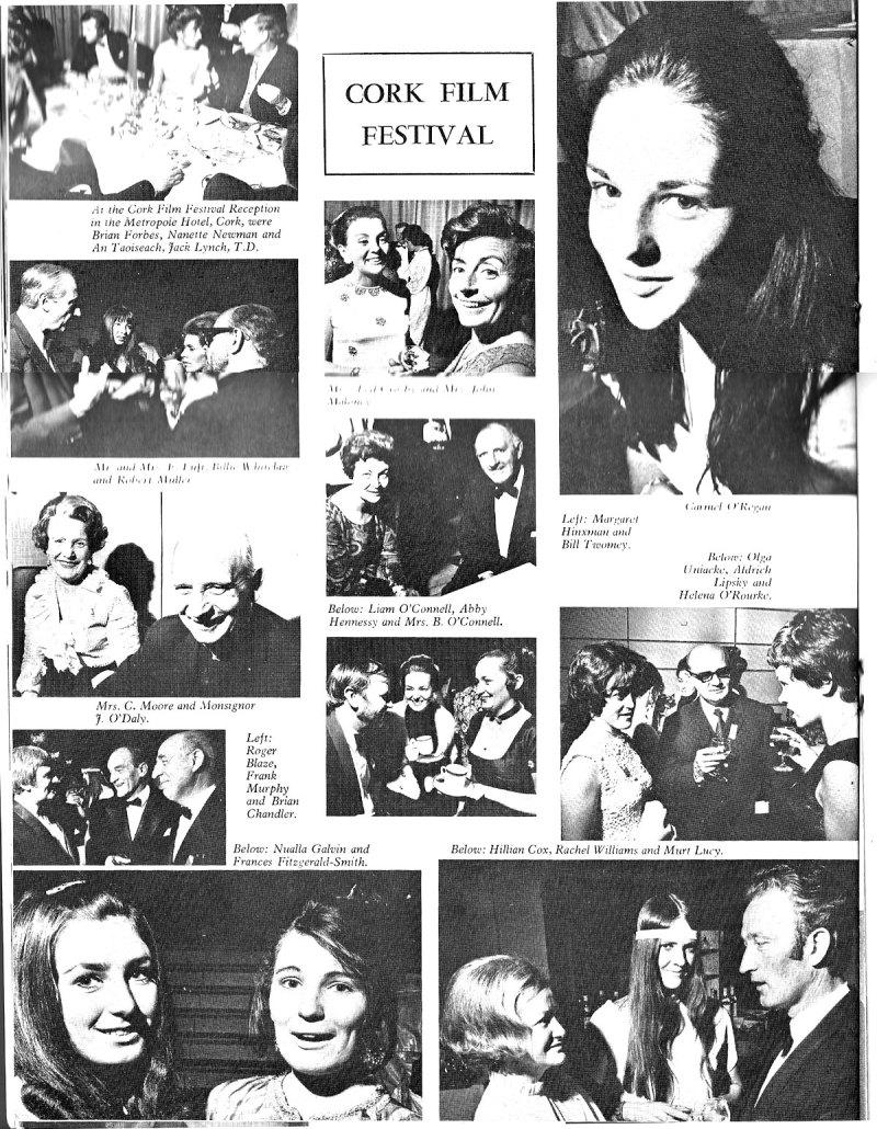 cork film festival 1970