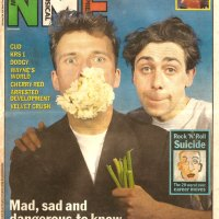 Sean Hughes & Cathal Coughlan (Fatima Mansions), NME, May 1992.