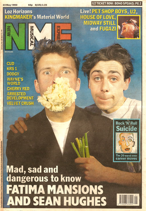 nme_cover_23May_1992_sean_hughes_cathal_coughlan