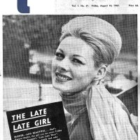 The Late Late Girl,  Verona Mullen -  RTV Guide - 1962