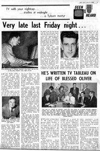 review of first late late show 1962