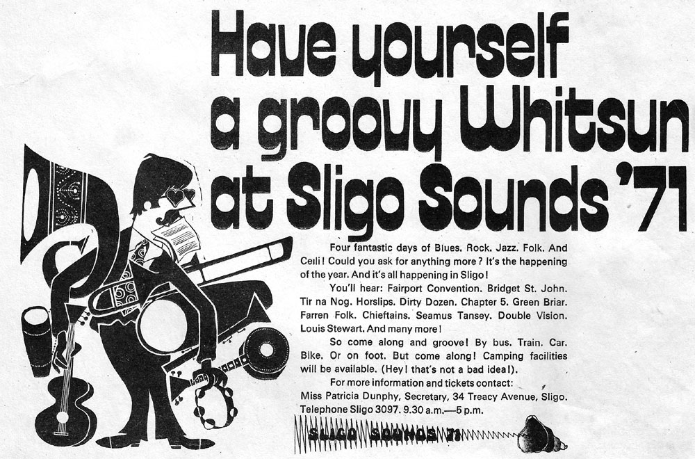 sligo sounds festival whit sunday 1971