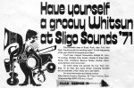 sligo sounds festival whit sunday 1971