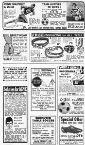 adverts from goal mag
