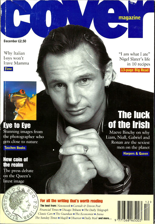 cover-issue-3-December-1997-Liam Neeson