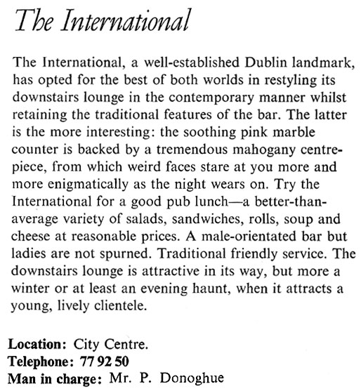 international-bar-dublin-1969-review