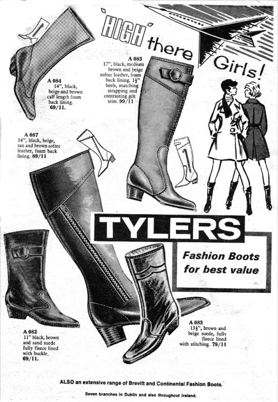 tylers shoes ireland 1969