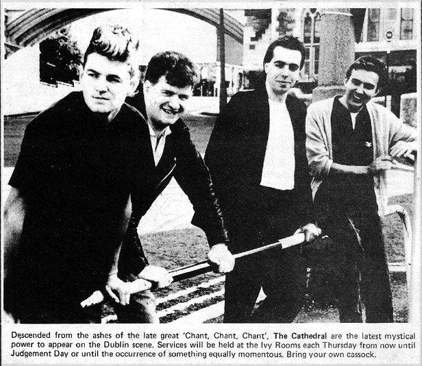 cathedral  ex chant chant chant dublin 1985