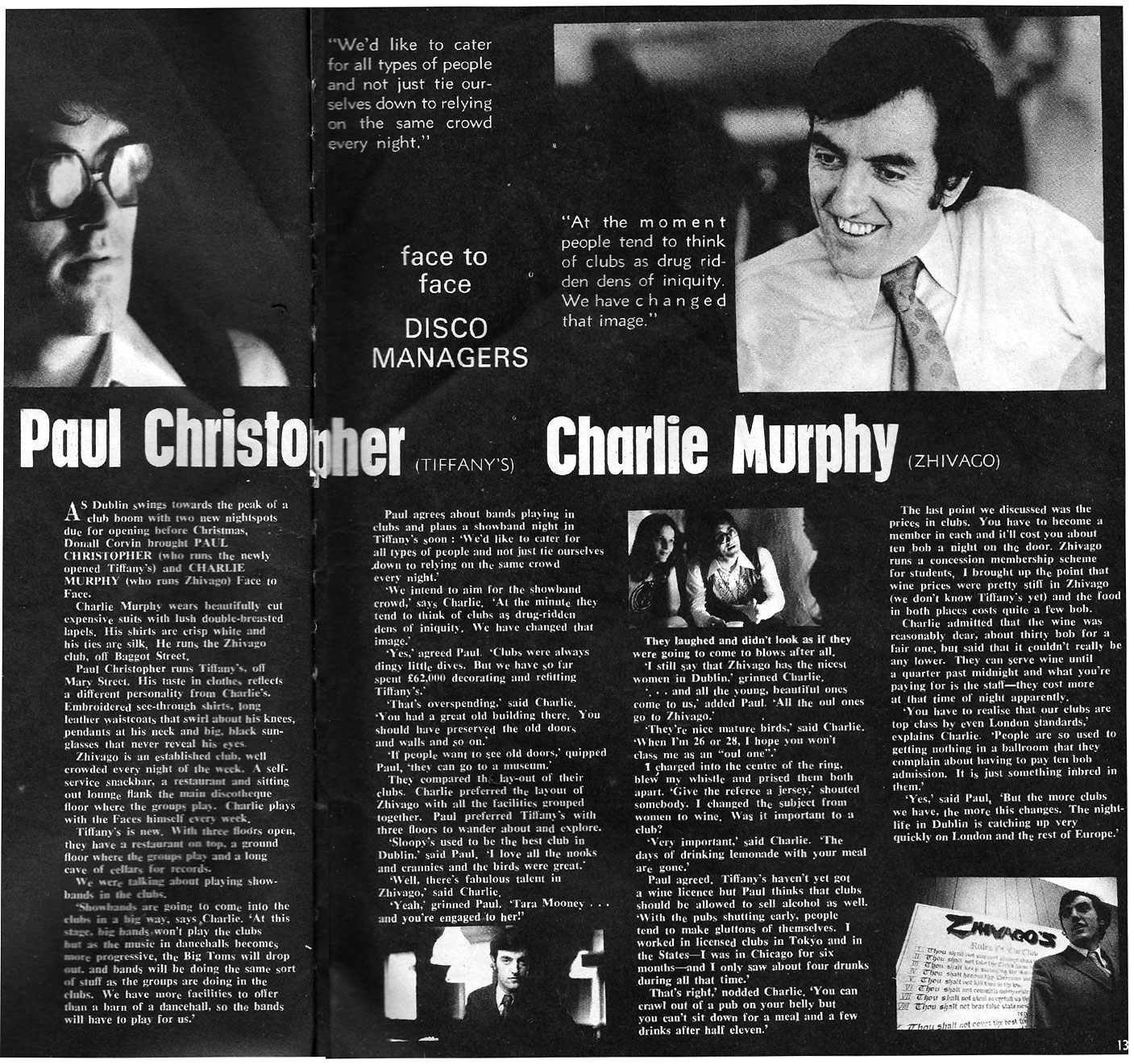 Paul_Christopher_Charlie_Murphy Dublin Nightclub