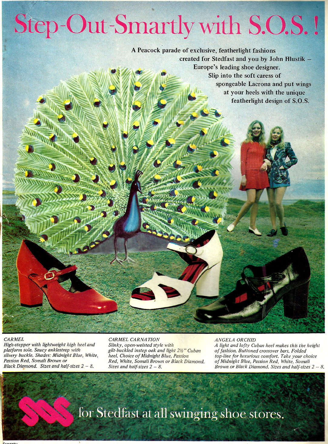 advert stedfast-shoes carrickmacross co monaghan 1972