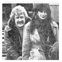 Kate Bush & Sonny Knowles, Dublin Airport, 1978