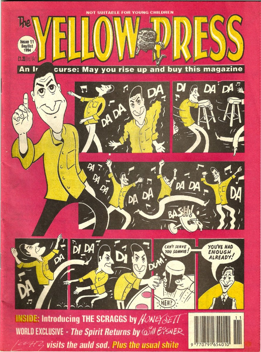 Yellow Press Comic #11 - Sep/Oct 1994
