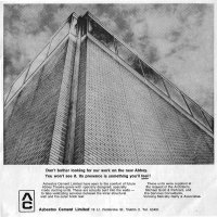 Old Adverts #108 - Asbestos Cement Ltd, 1966 & 1971