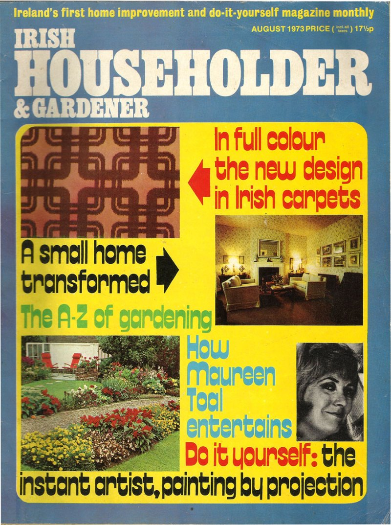 Irish householder gardener magazine august 1973 brand new retro irish householder gardener magazine august 1973 solutioingenieria Images