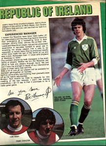 pat jennings ireland v norther ireland 1979