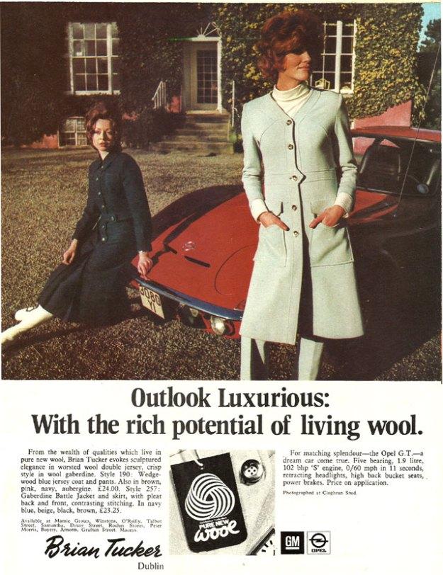 Brian Tucker Dublin Wool 1971
