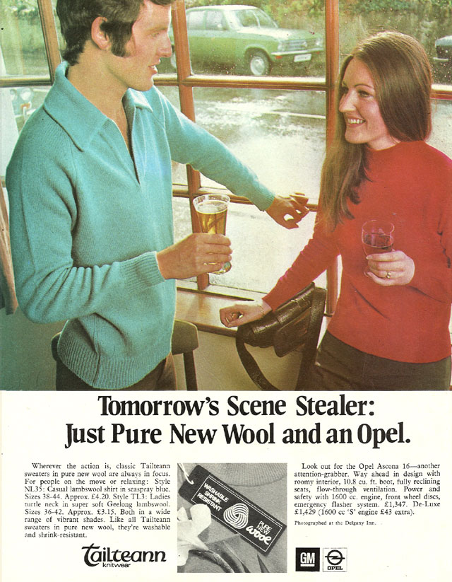 tailteann knitwear 1971