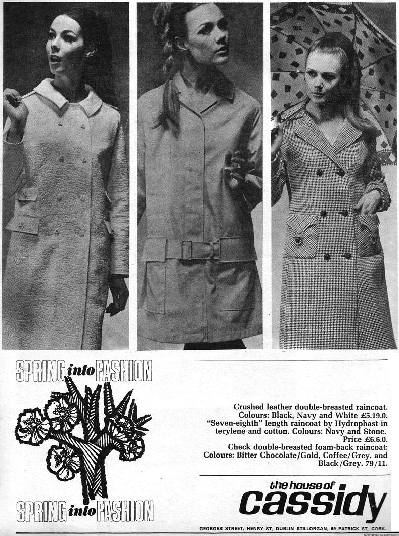 cassidys fashions ireland 1967