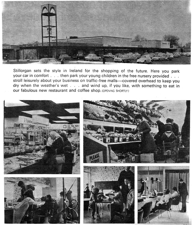 stillorgan shop centre photos 1967