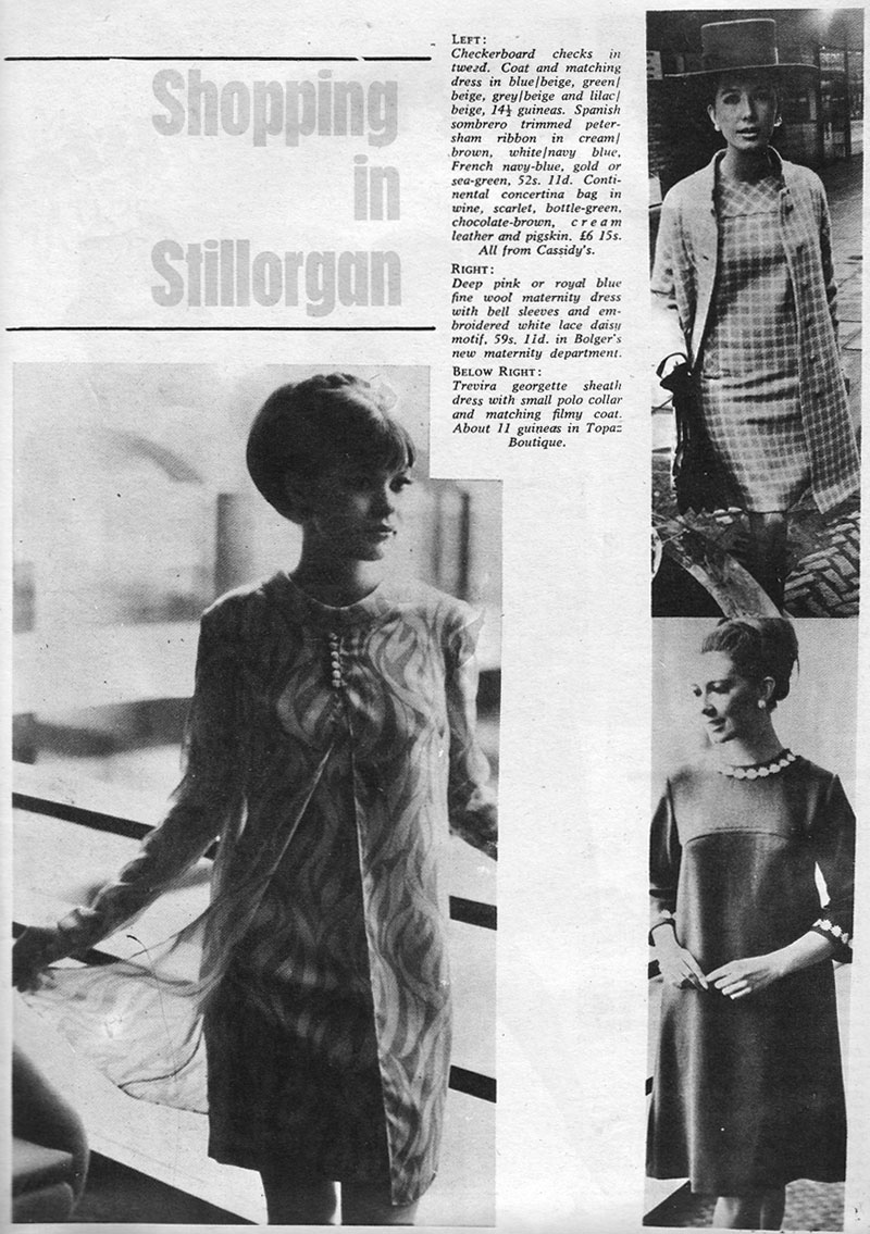 shopping fashion stillorgan 1967