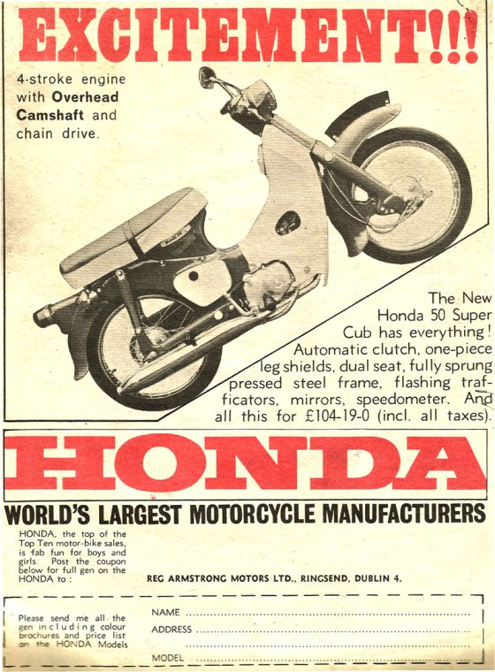 honda-50-advert-ireland-1968