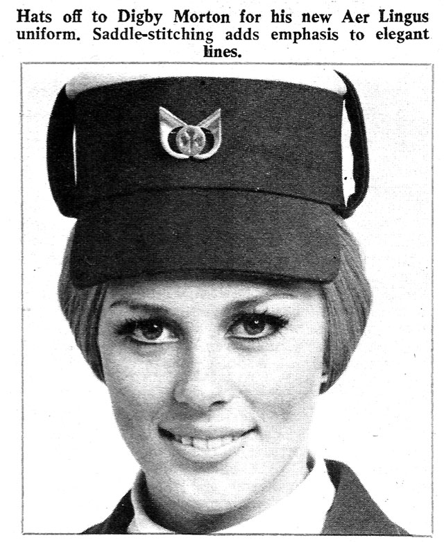 hat-aer lingus new look 1970 - digby-mortan