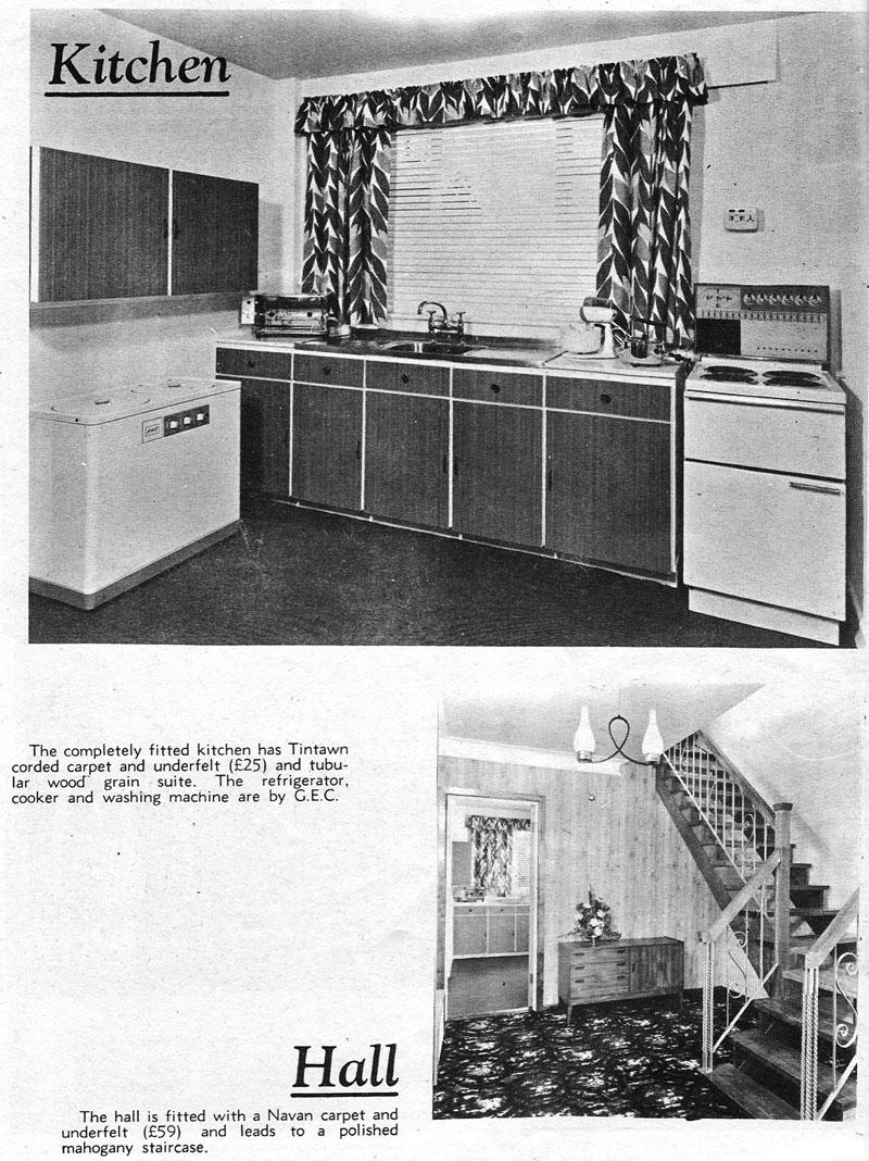 Glenbrook Estate Rathfarnmam, Dublin 14 dining kitchen