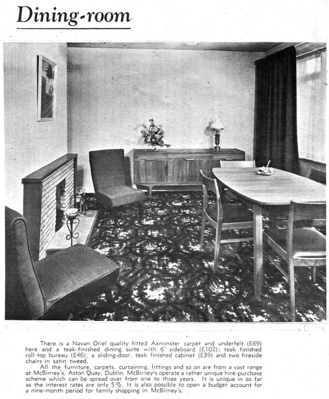 Glenbrook Estate Rathfarnmam, Dublin 14 dining room