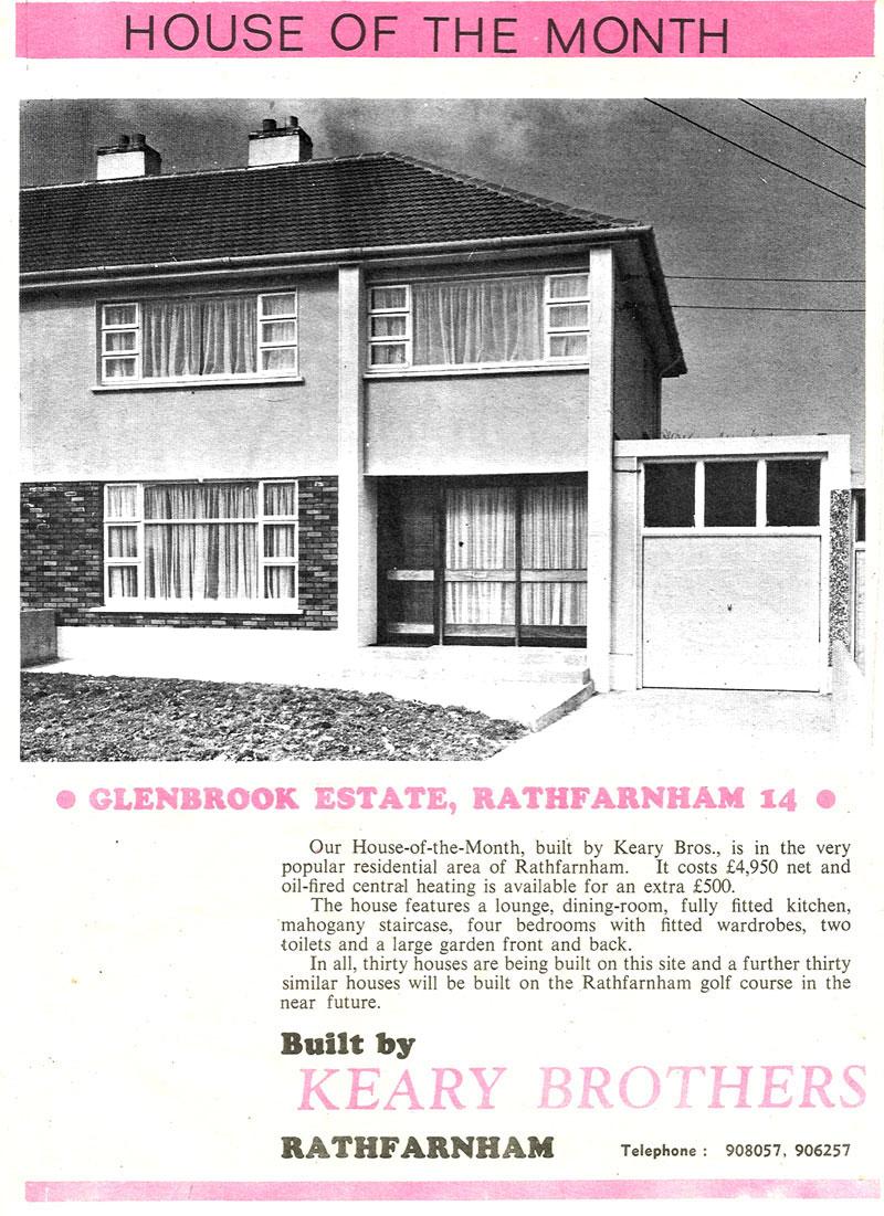 Glenbrook Estate Rathfarnmam, Dublin 14 house