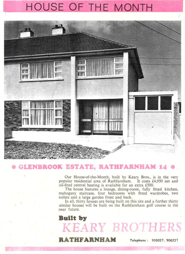 Glenbrook Estate Rathfarnmam, Dublin 14 house