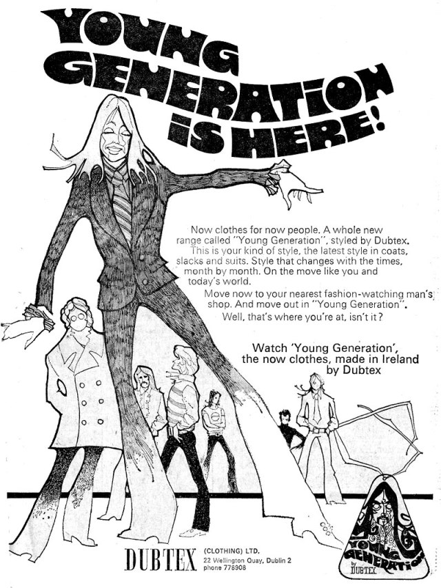 young genreation by dubtex clothing dublin 1972