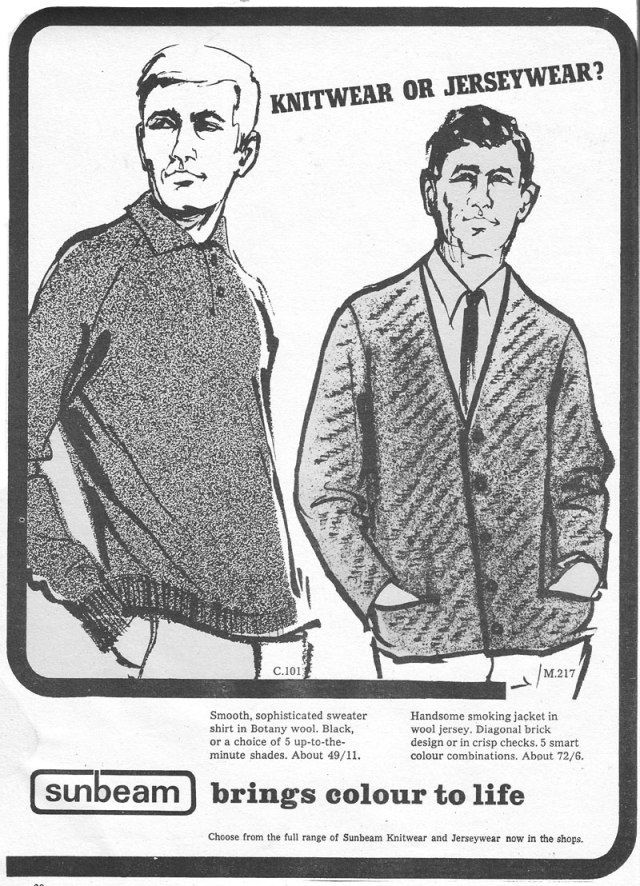 sunbeam-1966-mens knitwear
