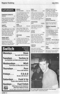 dublin-saturday-club-listings-july-2002