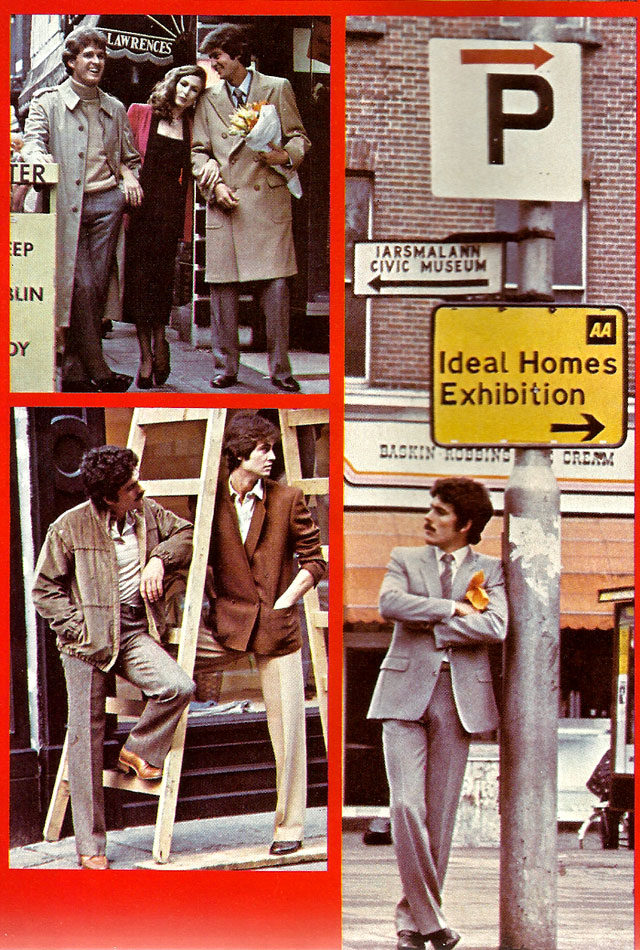 mens fashion dublin 1979 - executive