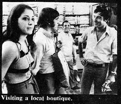 joe dolan  in israel 1970 boutique visit
