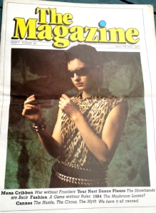 the magazine, 1983 august cover