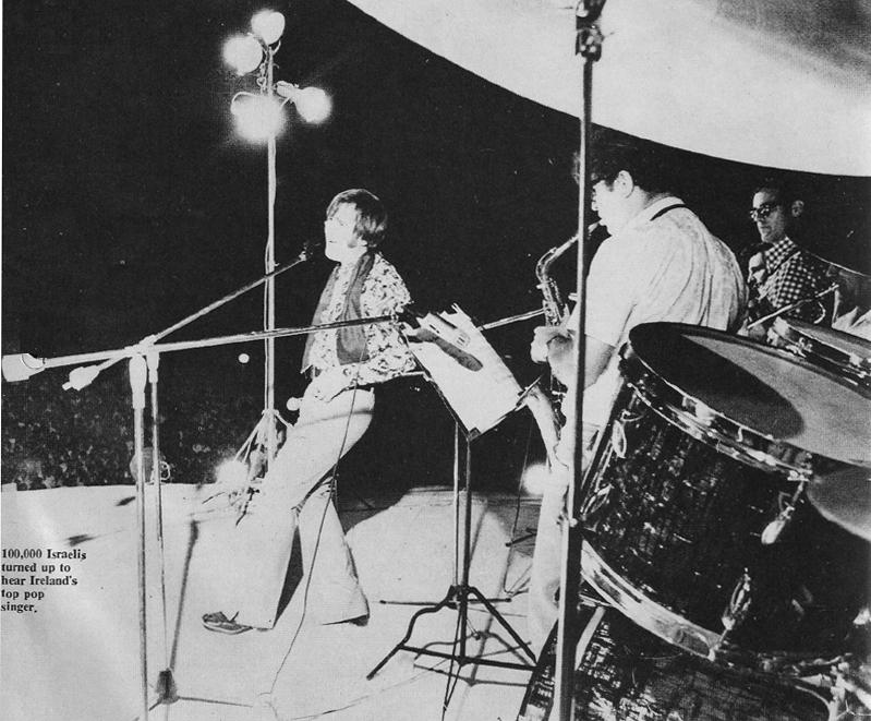 joe dolan & group in israel 1970 live on stage