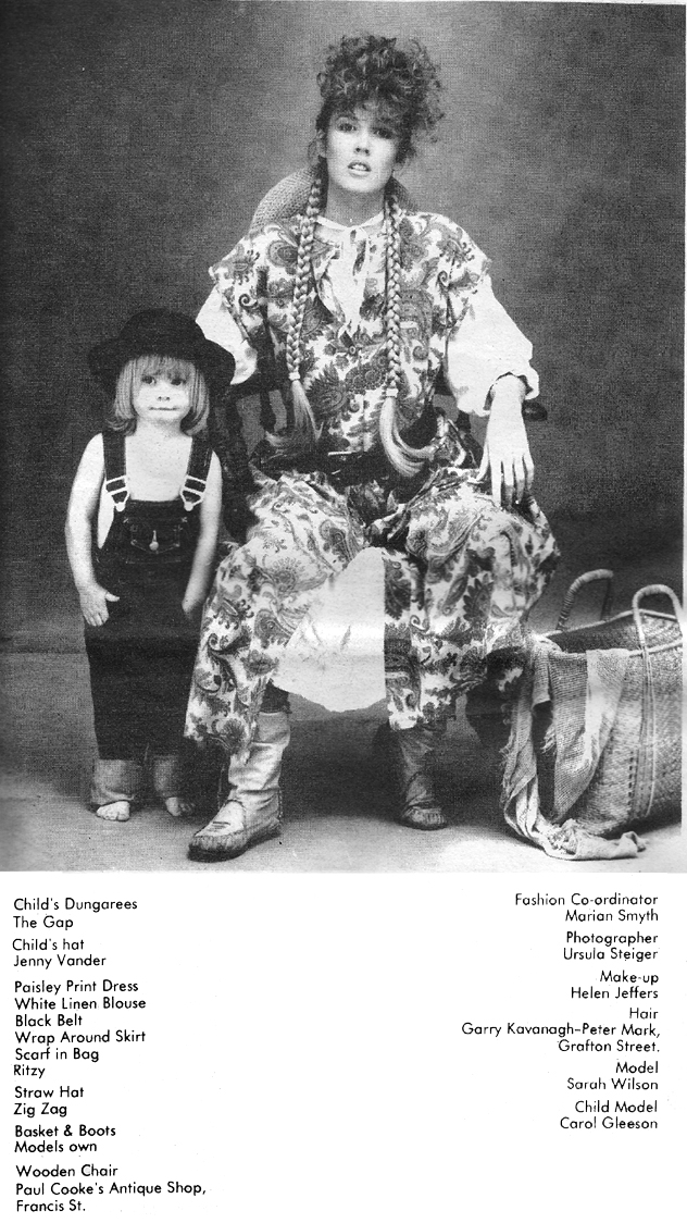 the magazine, 1983 august fashion pic1