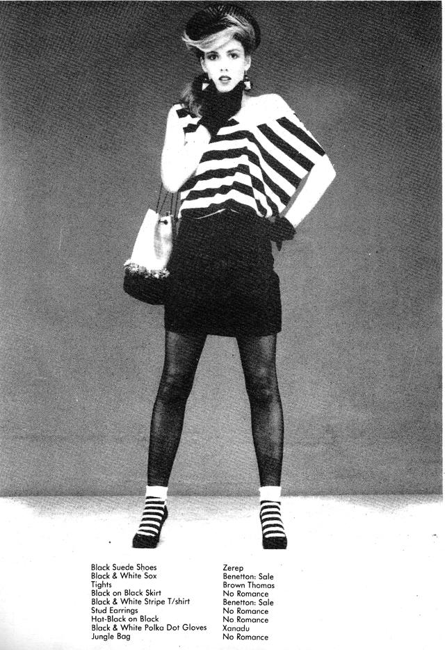 the magazine, 1983 august fashion pic3