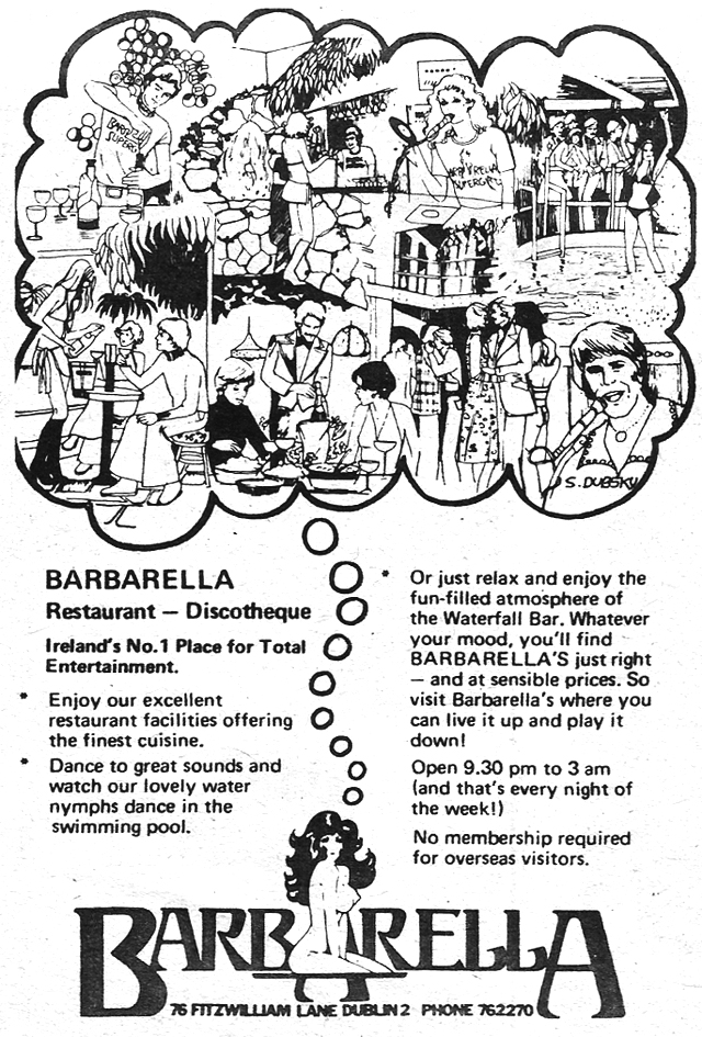 barbarellas-disco- nightclub-dublin-1977