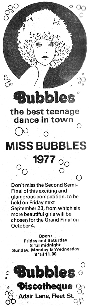 bubbles-teenage-disco-fleet-st-dublin-1977