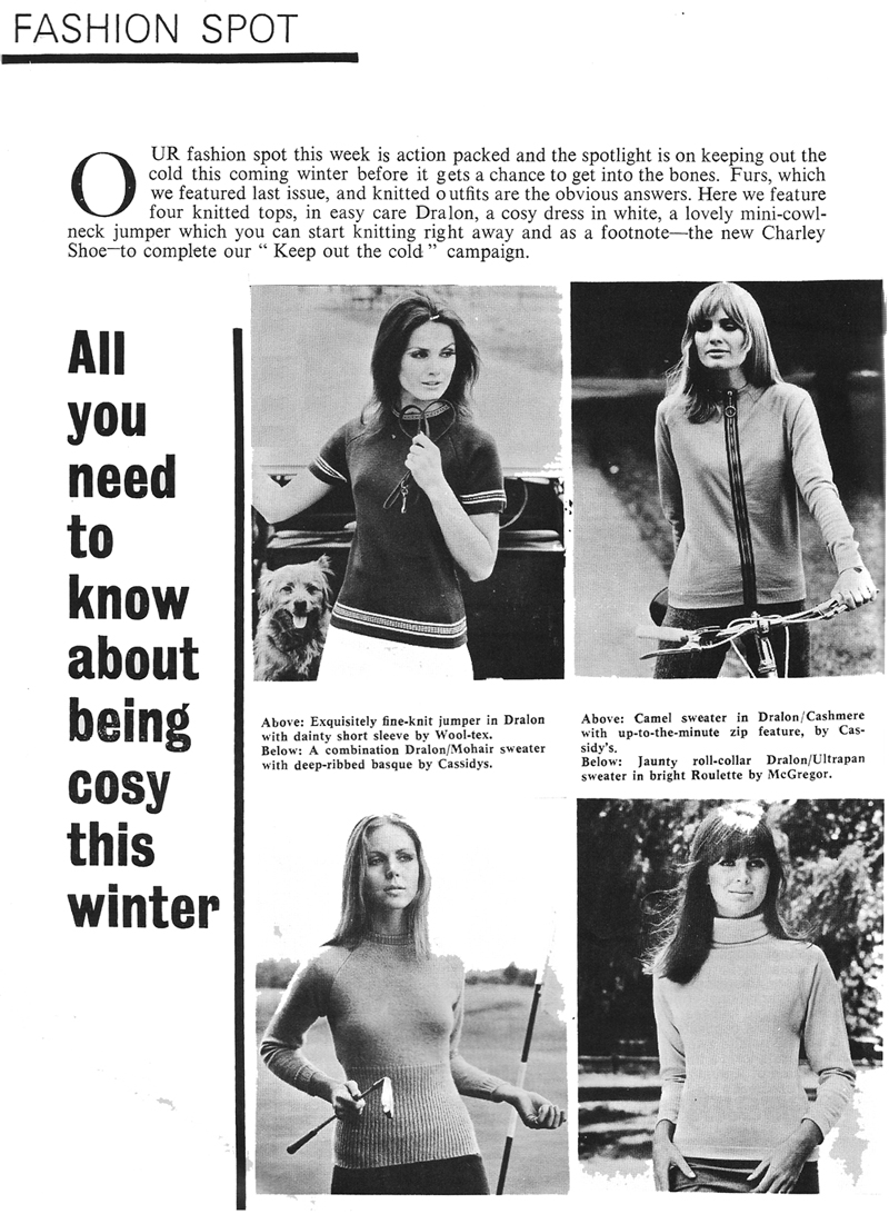 dralon 1967 fashion ireland